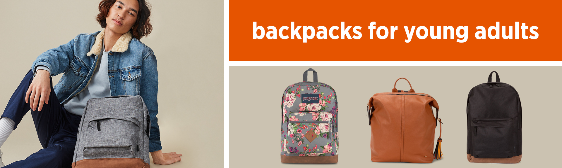 Backpacks for young adults