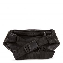 Patch Leather Multi-Zip Fanny Pack