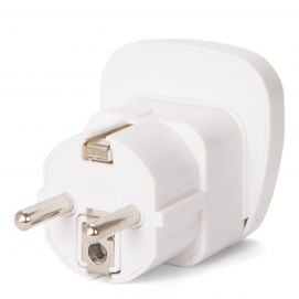 Grounded Travel Adaptor for Europe