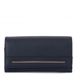 RFID Flap Trifold Wallet