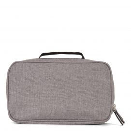 Two-Compartment Toiletry Bag