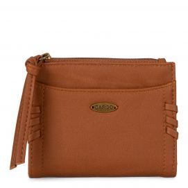 Bifold Compact Wallet with zip pouches