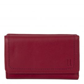 Small Leather Flap Wallet with double stich detailing (RFID Blocking)