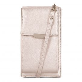 Wallet on a String with Cellphone Pocket