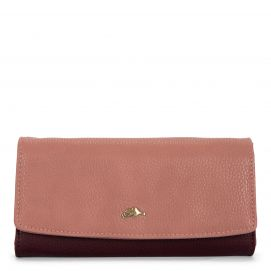 Large Flap Trifold Wallet