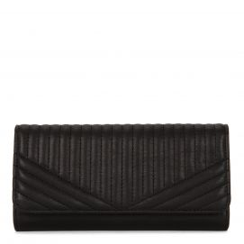 Quilted Flap Wallet