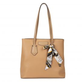 Brooklyn Tote Handbag with Scarf