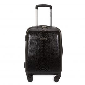 """Coil Snakeskin Print Hardside 20"""" Carry-on Luggage"""