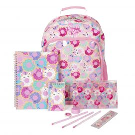7-pc Twinkle Toes Backpack Set