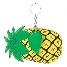 Pineapple Coin Case Keychain