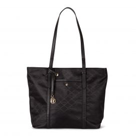 Fashion Tote in Signature Jacquard (RFID Blocking)