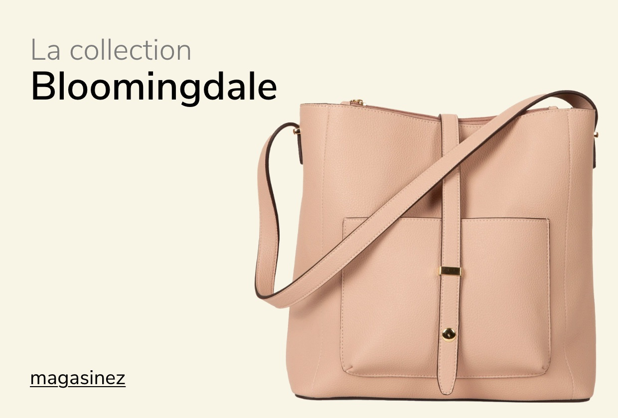 Collection bloomingdale sac à main